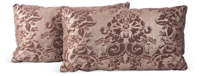 Fortuny Dondolo Lumbar Pillow, Pair
