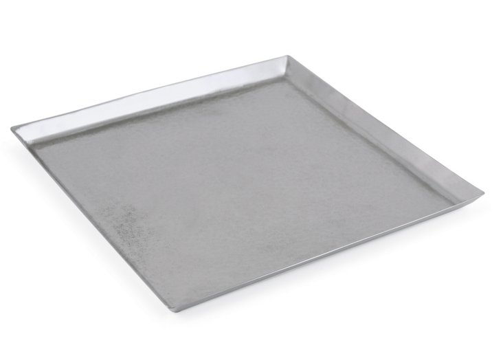 Placid Square Tray, Medium