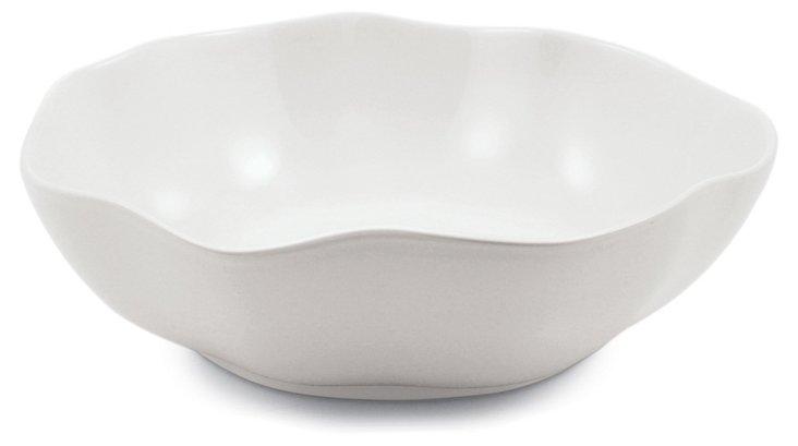 Stoneware Serving Bowl, White