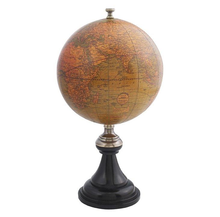 """11"""" Versaille Desk Globe"""