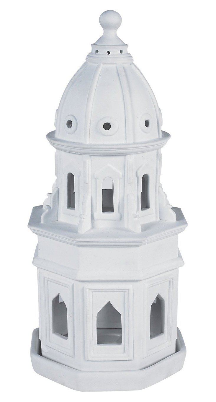 Porcelain Duomo Model, White