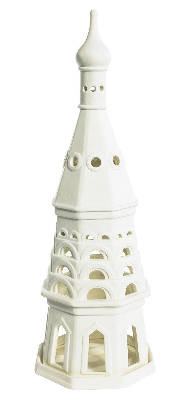 """15"""" Ivan Tower, Bisque"""