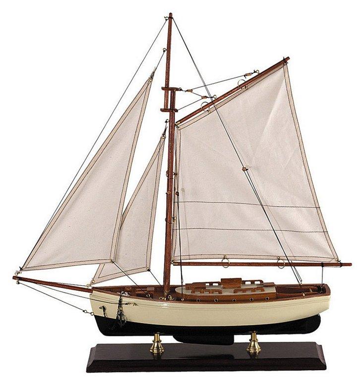 Classic 1930s Sailboat