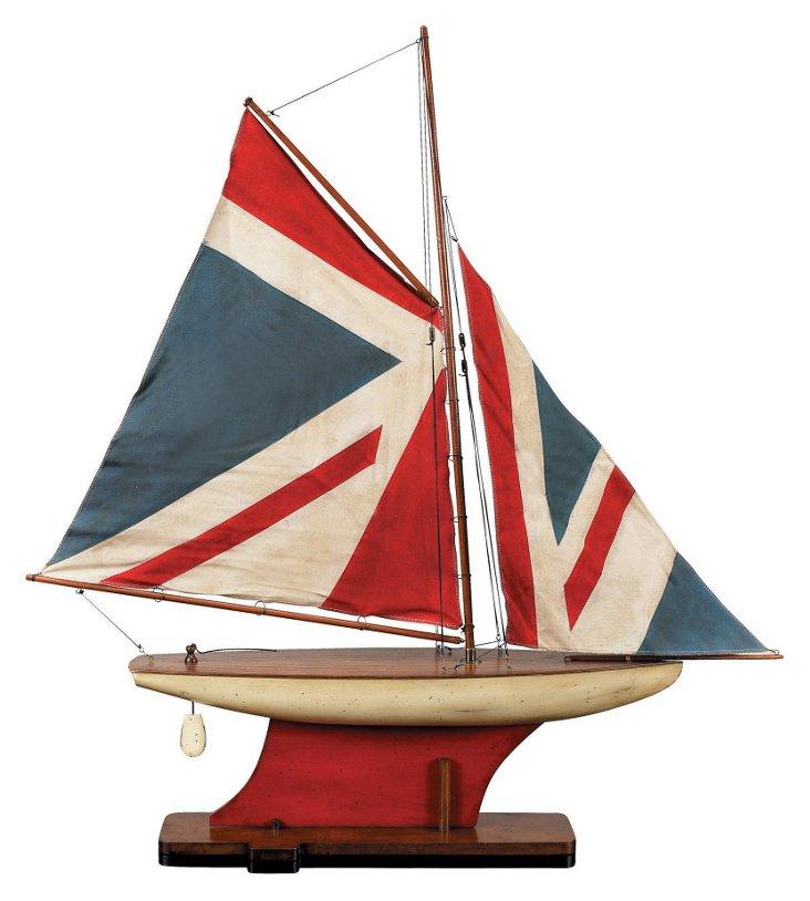 Union Jack Pond Sailboat