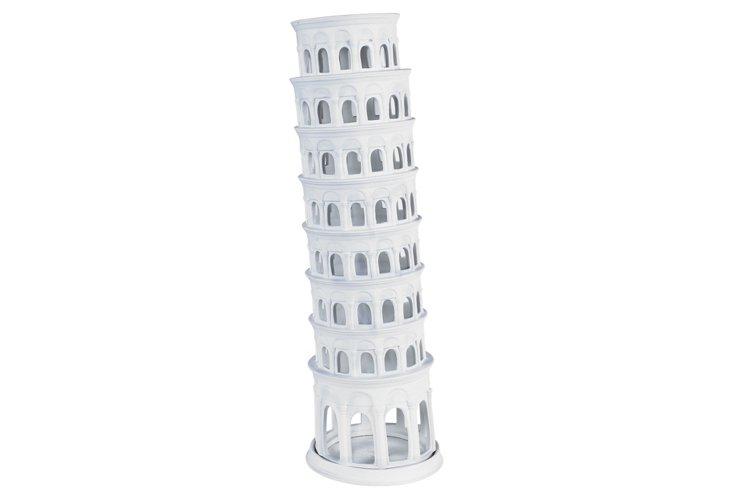 Tower of Pisa, White