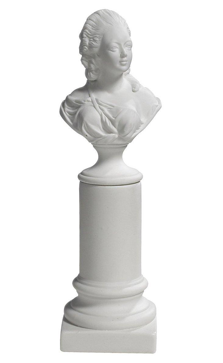 """10"""" Madame de Pompadour Bust"""