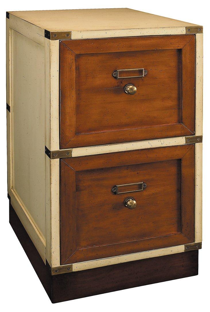 Montana File Cabinet, Ivory