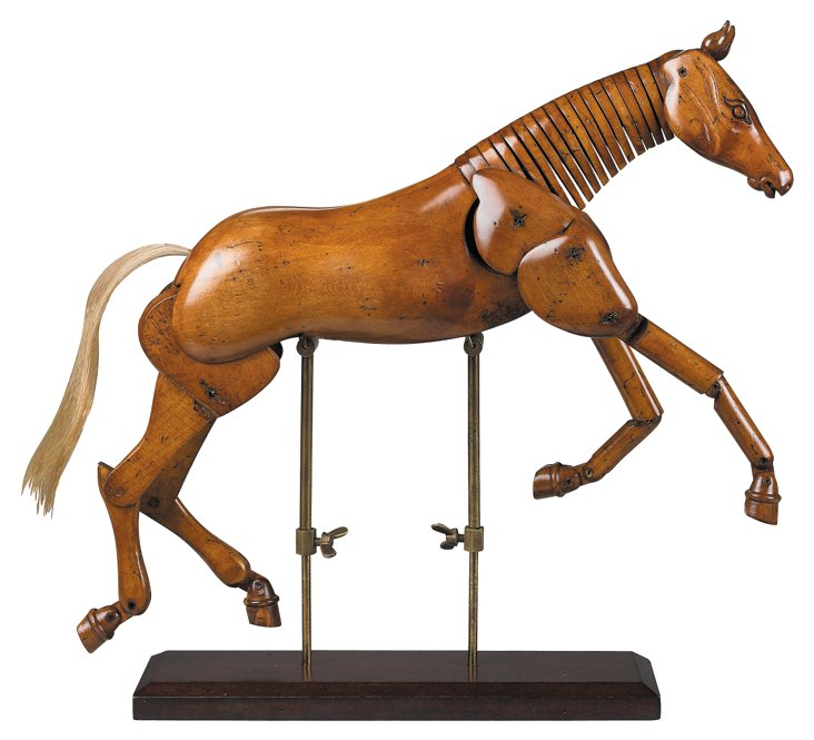 "15"" Artist Horse, Brown"