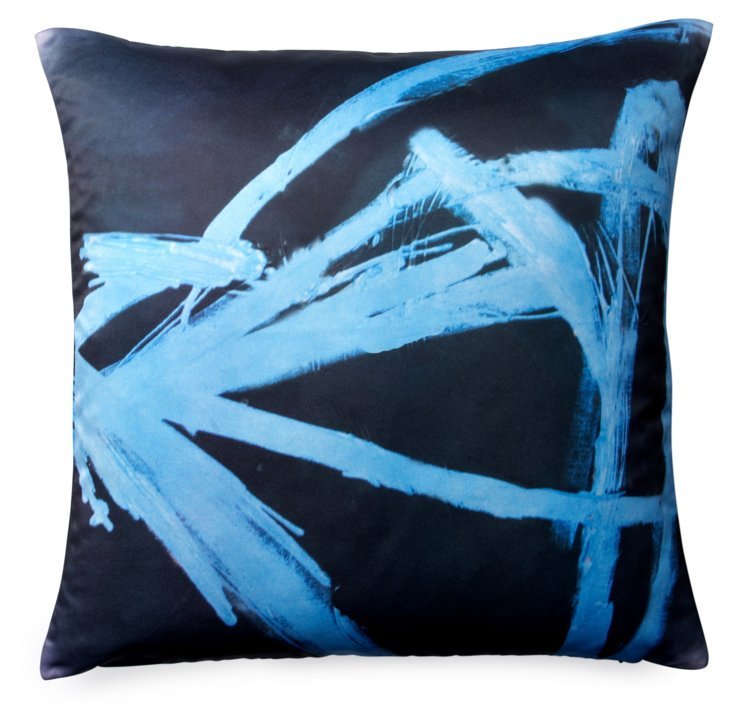 Strokes 20x20 Pillow, Multi