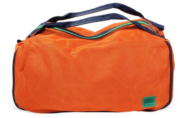 Large Dubbel Duffel, Orange