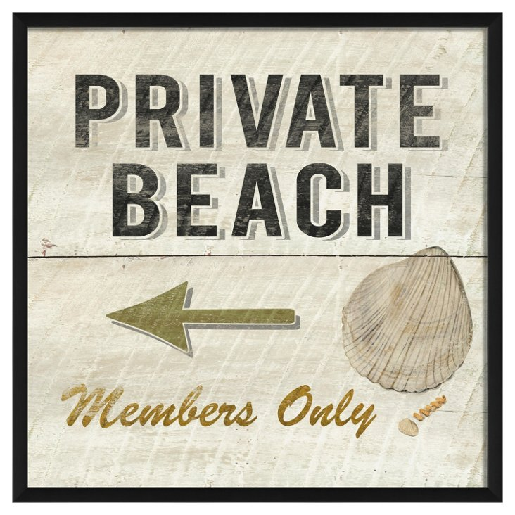 Private Beach Members Only