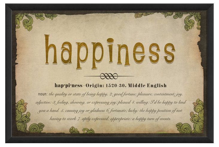 Happiness Definition