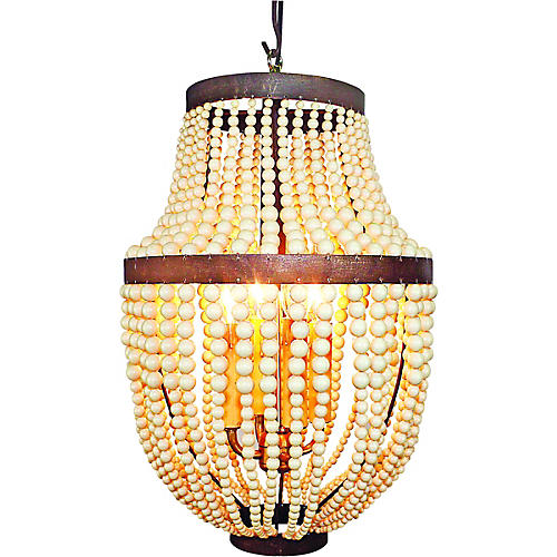 Kent 4 light chandelier gold