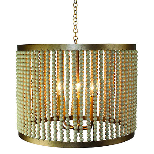 Avon 6-Light Chandelier, Gold
