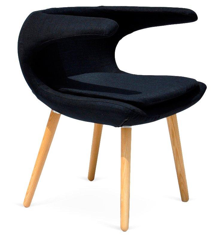 Falcon Chair, Black