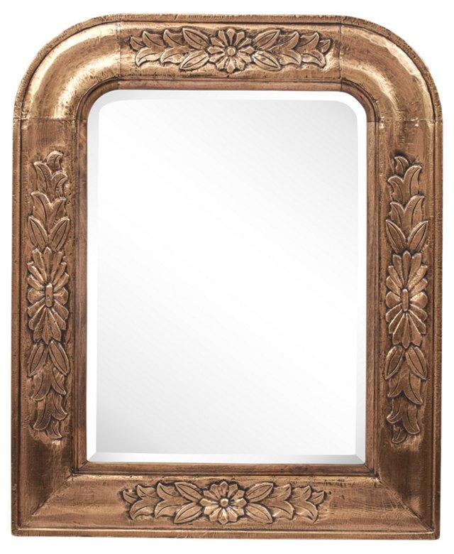 Sheila Mirror, Brass