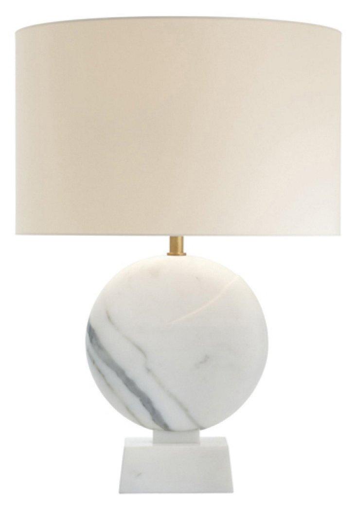 Blanc Sculpte Table Lamp