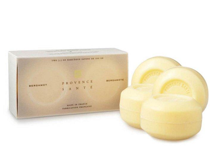 S/4 Provence Hand Soaps, Bergamot