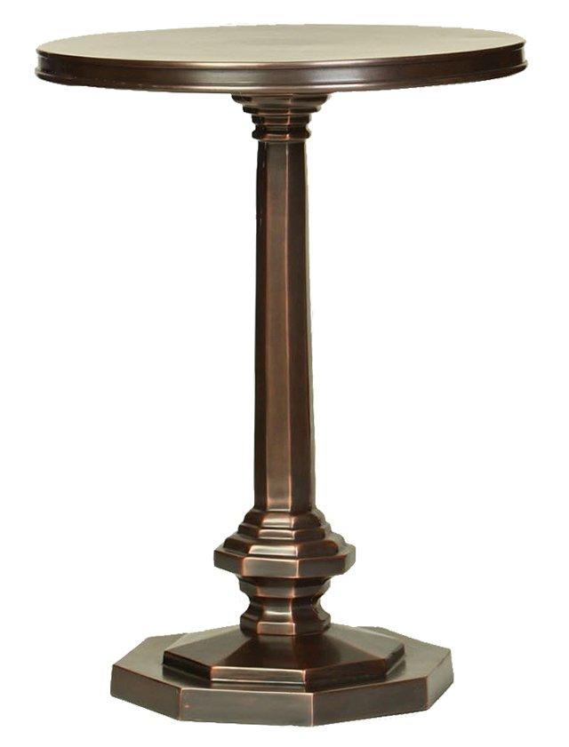 Tucker Side Table, Copper