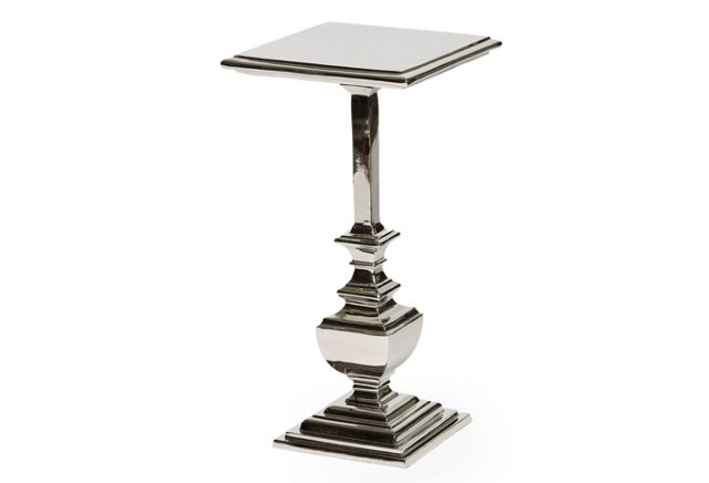 * Sebastian Accent Table, Nickel