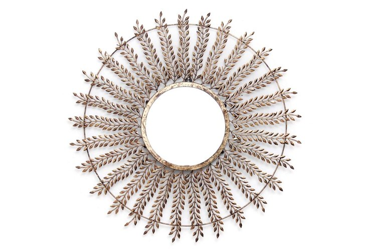 Francois Mirror, Antique Gold