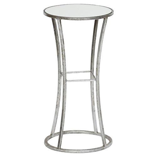Joanie Side Table, Silver