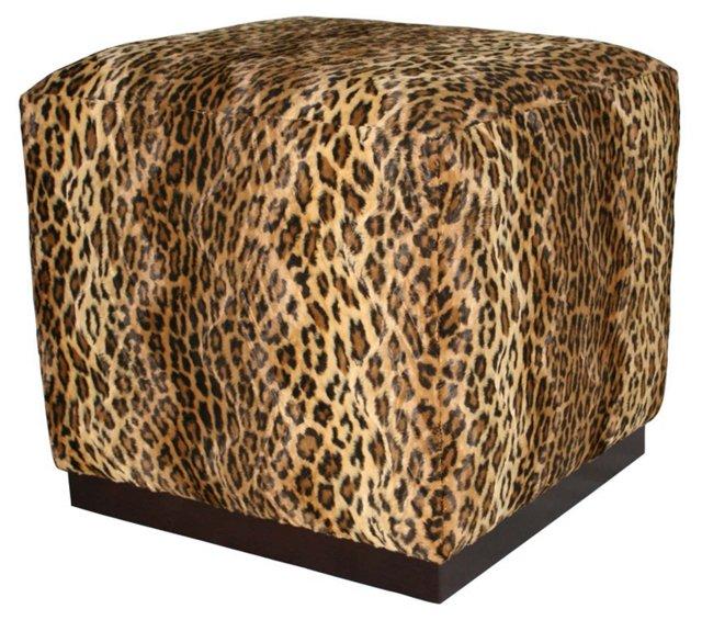 Carson Cube, Leopard Print