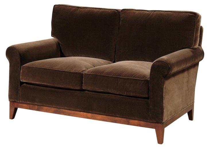 """Beverly 60"""" Sofa, Espresso"""