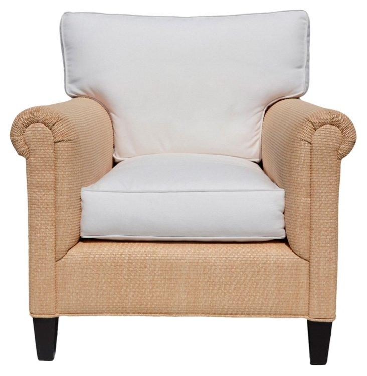 Sussex Club Chair, Raffia