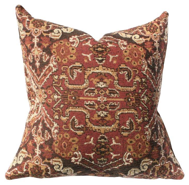 Ankara 22x22 Cotton-Blend Pillow, Multi