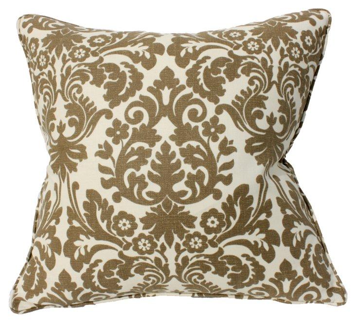 Essence 22x22 Pillow, Chocolate