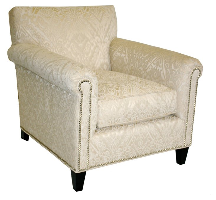 Paris Club Chair, Cream