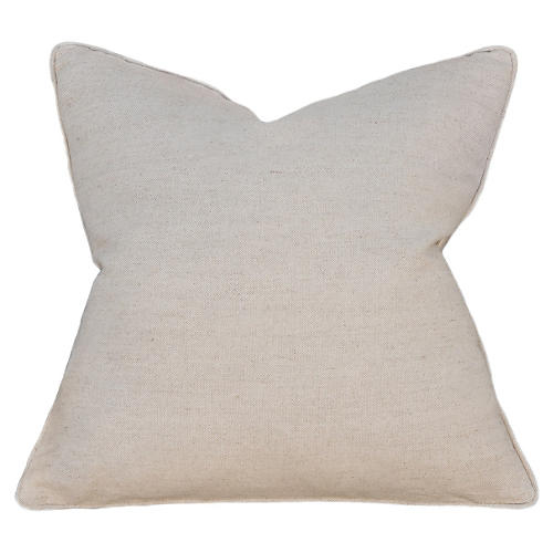 Natural Erin 22x22 Pillow, Oatmeal