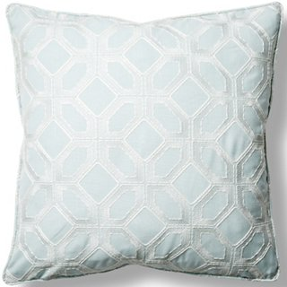 Barraud 22x22 Throw Pillow Seafoam Poolside Style Outdoor