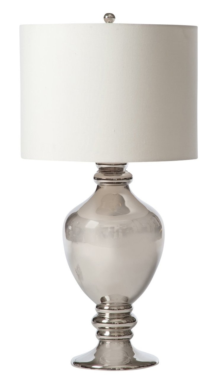 Tim Table Lamp, Nickel