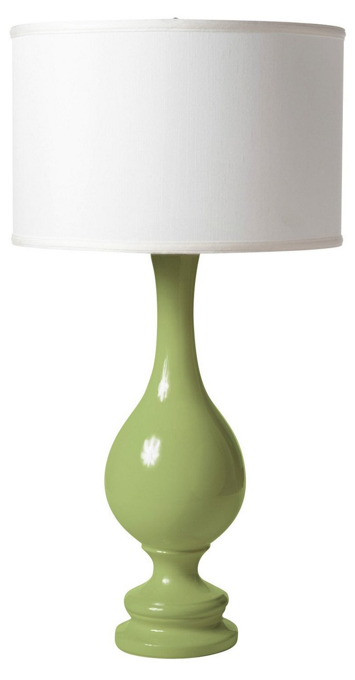 Ben Table Lamp, Celadon Crackle