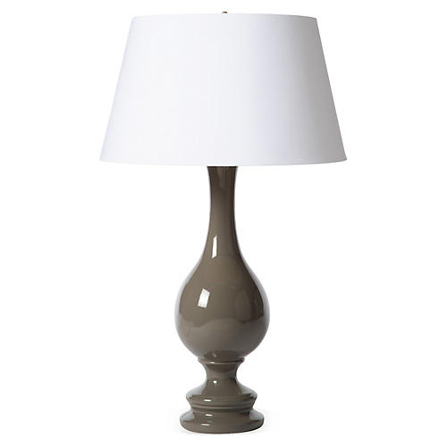 Ben Table Lamp, Gray