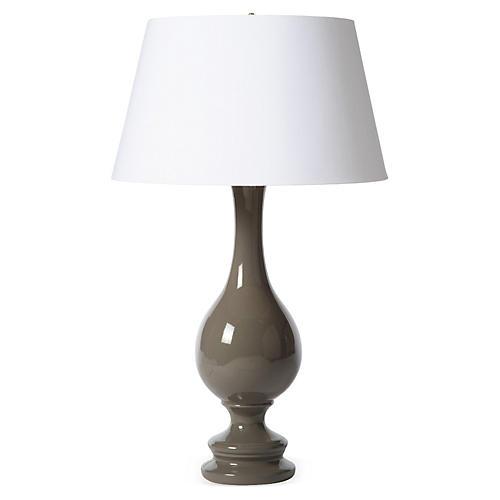 Ben Table Lamp, Gray
