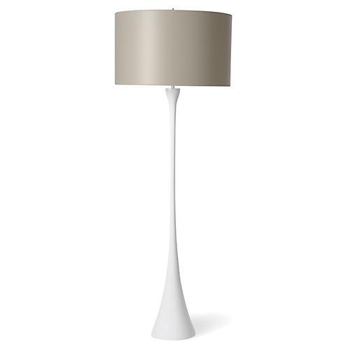 Olympia Floor Lamp, White