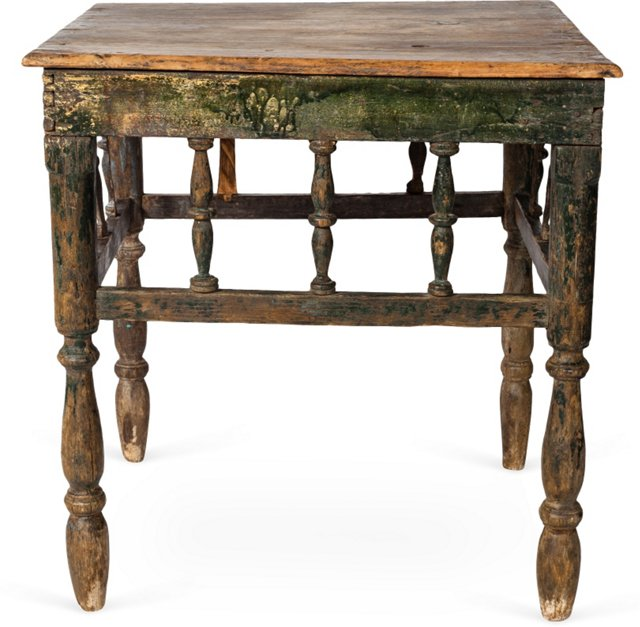 Antique Mexican Pine Table