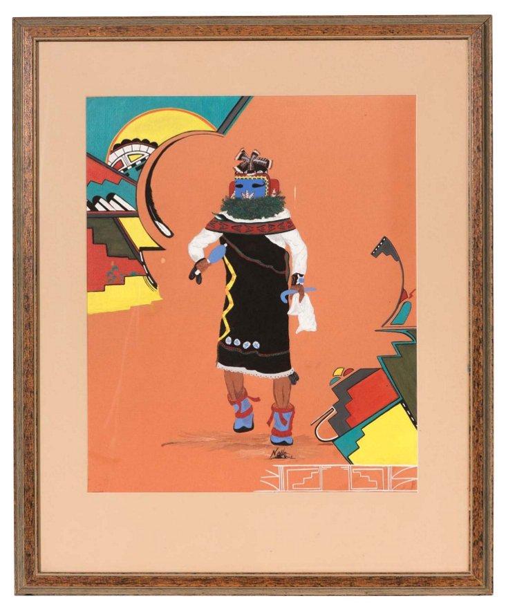 Kachina Watercolor