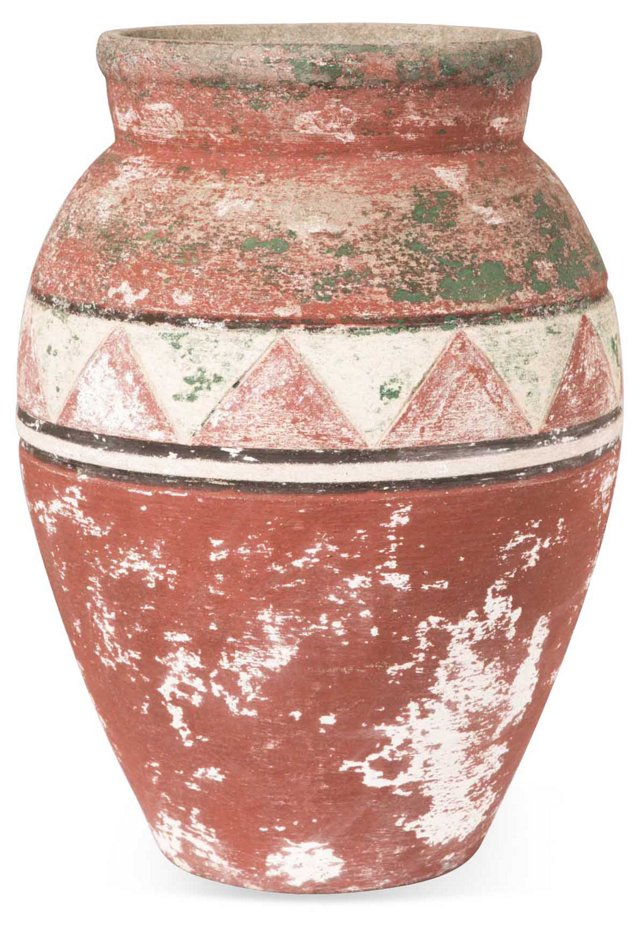 Hillside-Style Cement Pot