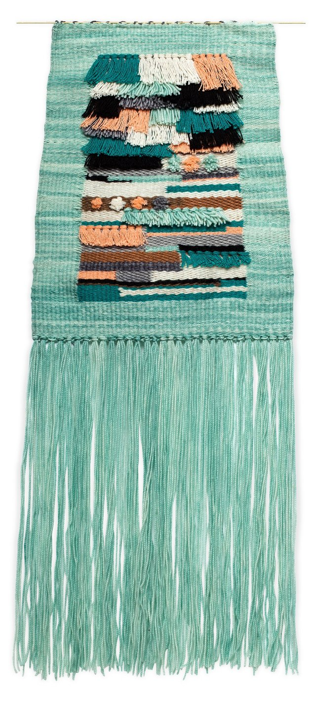 Poolside Woven Wall Hanging