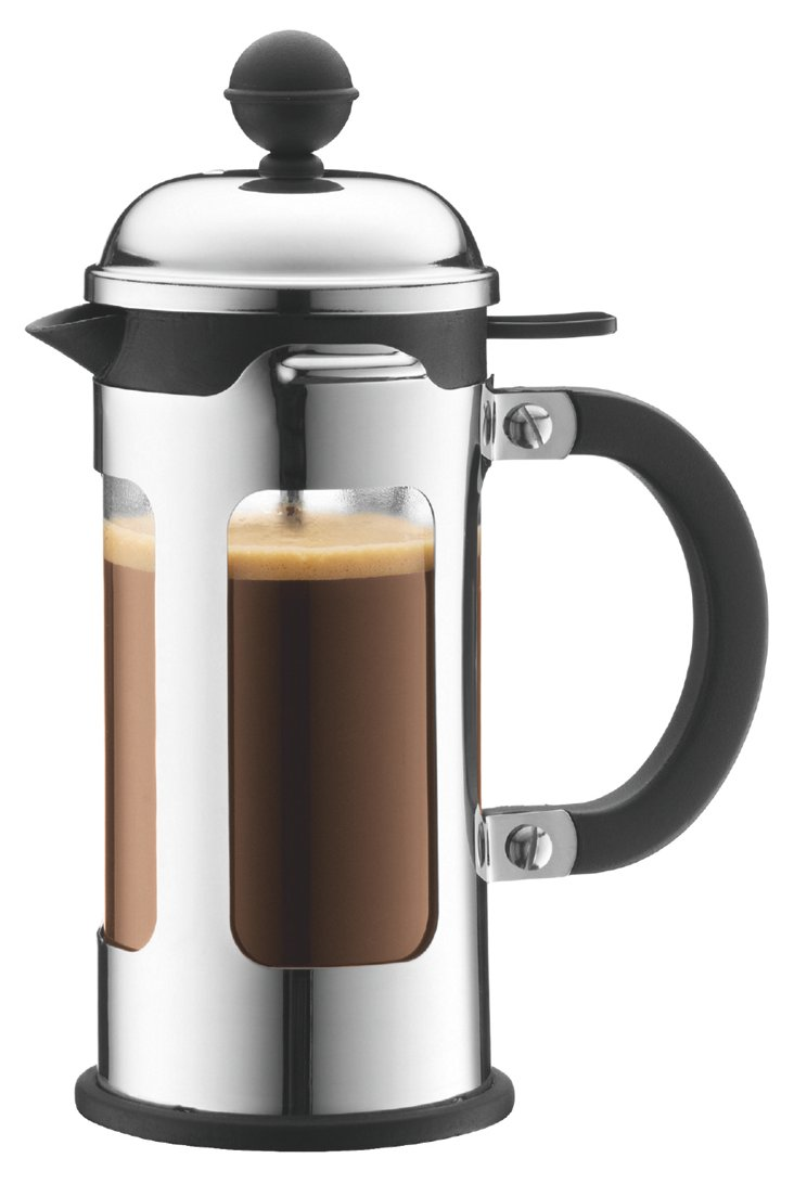 3-Cup French Press, Silver