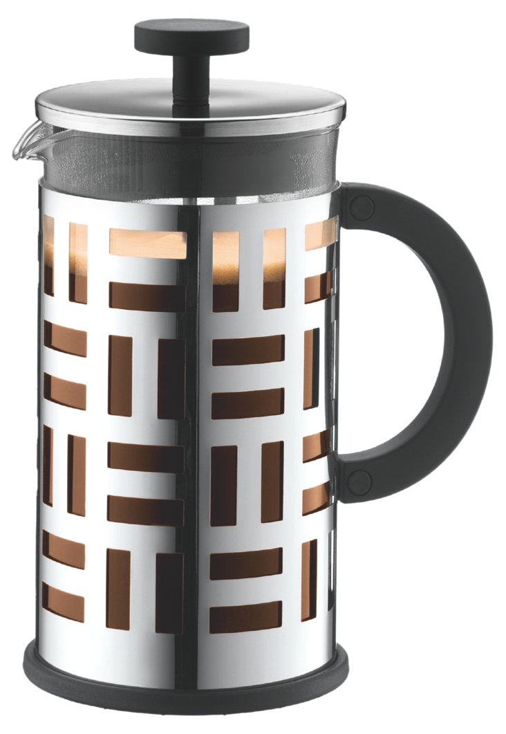 8-Cup Eileen Coffee Maker, Silver