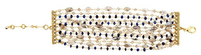 Lapis & Labradorite Bracelet