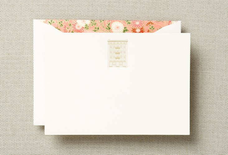 Set of 12 Fifth Avenue No. 1 Note Cards