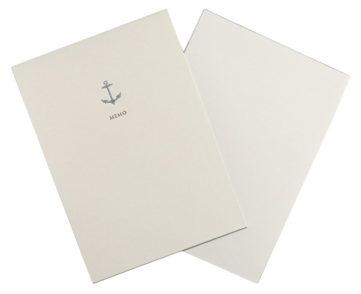 S/10 Anchor Hand-Engraved Jotters