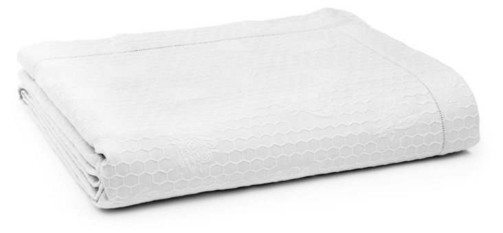 Imperial Bee Coverlet, Wh