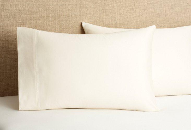 S/2 Pillowcases, Natural
